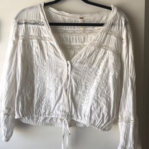 Free People - Crop flowy